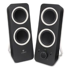 Logitech Multimedia Speakers Midnight Black Z200