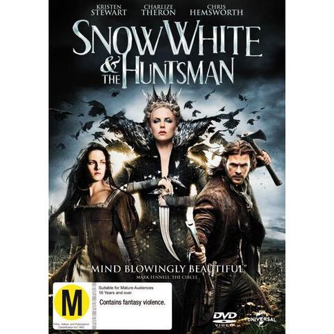 Snow White And The Huntsman DVD 1Disc