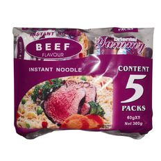 Yummy Noodles Beef 5 x 60g