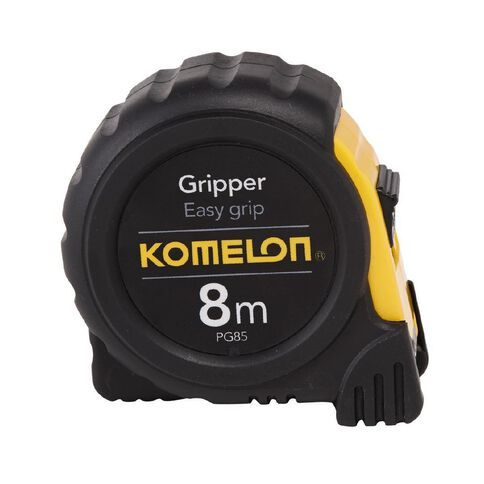 Komelon Gripper Measuring Tape 25mm x 8m