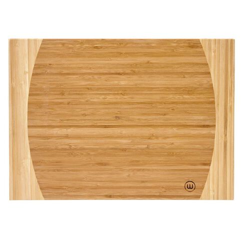 Wiltshire Curved Bamboo Chopping Board Large 457mm x 305mm x 18mm