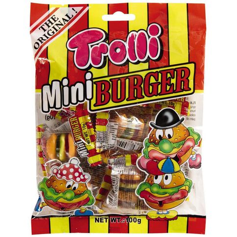 Trolli Mini Burgers 90g