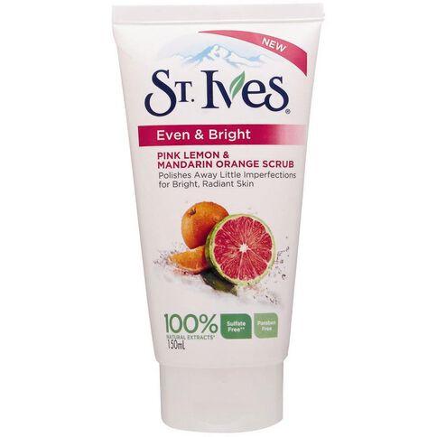 St Ives Scrub Citrus Lemon Orange 150ml