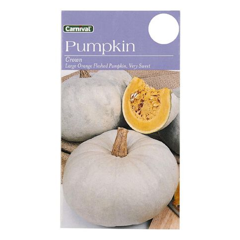 Carnival Crown Pumpkin Vegetable Seeds
