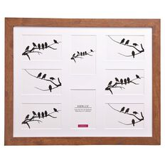 Living & Co Henley Collection Collage Frame Rustic 16in x 20in