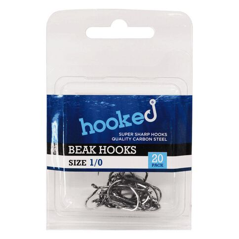 Hooked Beak Hook 1/0 20 Pack