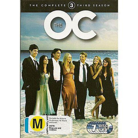 The O.C. Season 3 DVD 7Disc