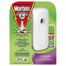 Mortein Auto Insect Control Lavender Dispenser Pack 154g