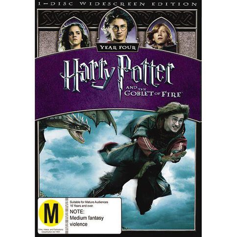Harry Potter And The Goblet Of Fire DVD 1Disc