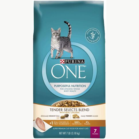 Purina One Cat Tender Select Blend With Chicken 3.18kg
