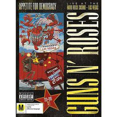 Appetite for Democracy 3D Live DVD/CD by Guns N' Roses 3Disc