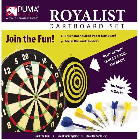 Puma Darts Royalist Dartboard & Darts Set