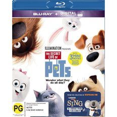 The Secret Life Of Pets Blu-ray 1Disc