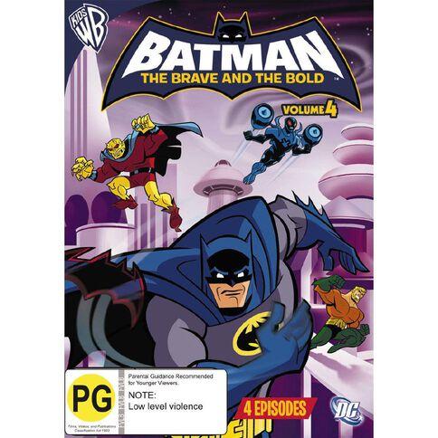 Batman Brave Bold Volume 4 DVD 1Disc