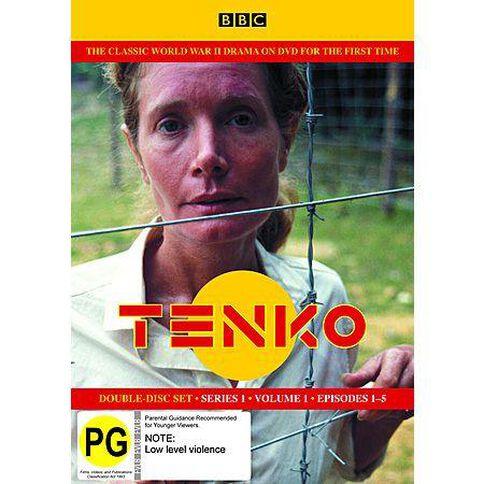 Tenko S1 Part 1 DVD 2Discs