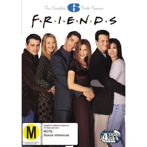 Friends Season 6 DVD 4Disc