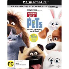 The Secret Life Of Pets 4K Blu-ray 2Disc