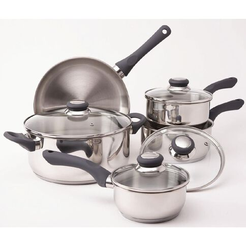 Harrison & Lane Stainless Steel Cookware Set 5 Piece