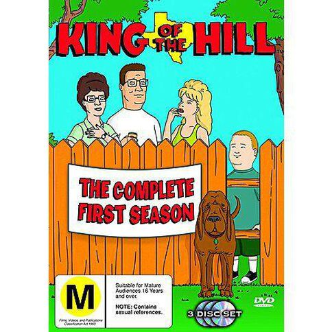 King of The Hill Season 1 3Disc