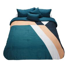 Elemis Palm Springs Comforter Set Painterly