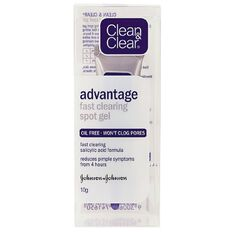 Clean & Clear Advantage Fast Clearing Spot Gel 10g