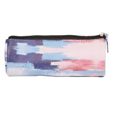 Toiletry Bag Pencil Case Water Colour Navy/Pink