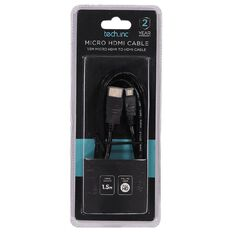 Tech.Inc Micro HDMI Cable 1.5m