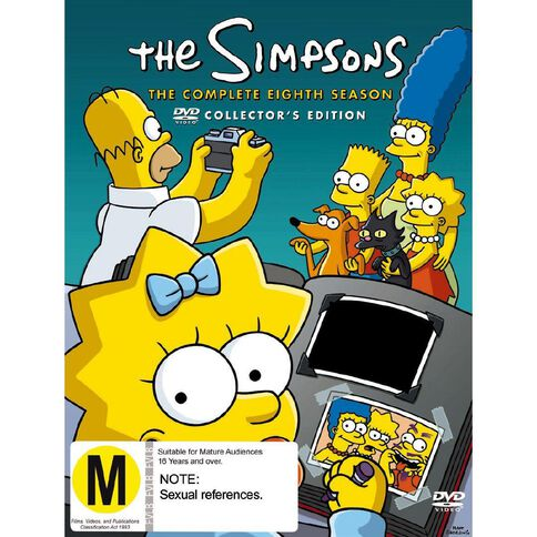 The Simpsons Season 8 DVD 4Disc