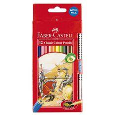 Faber-Castell Classic Colour Pencils 12 Pack