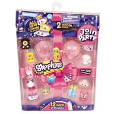 Shopkins Series 7 12 Pack Assorted