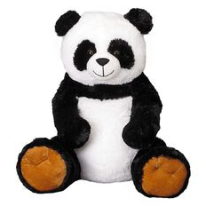 Play Studio Panda with Brown Feet Plush 78cm