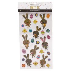 Party Inc Easter Stickers Sheet