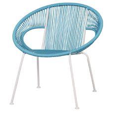 Living & Co Replica Acapulco Chair Blue