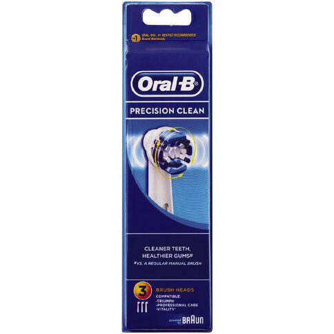 Oral-B Braun Precision Clean Refill 3 Pack