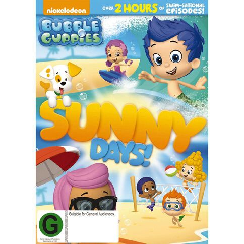 Bubble Guppies Sunny Days DVD 1Disc