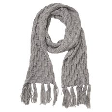 Debut Women's Chunky Knit Scarf