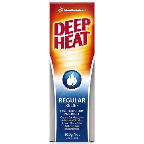 Deep Heat Regular Rub 100g
