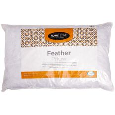 Home Zone Pillow Feather Ultra Fresh Treated