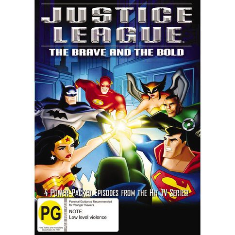Justice League Brave And Bold DVD 1Disc