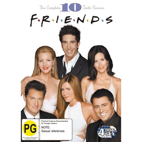 Friends Season 10 DVD 4Disc