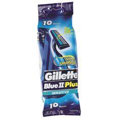 Gillette Blue 11 Plus Sensitive Disposable Razors 10 Pack