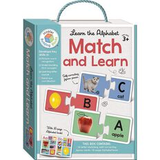 Building Blocks Match and Learn Cards Alphabet