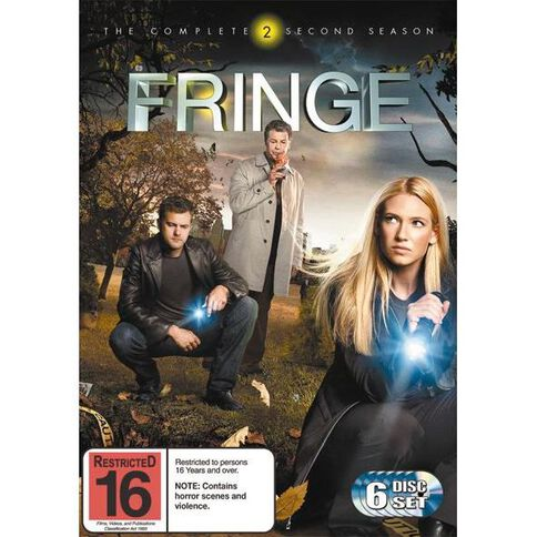 Fringe Season 2 DVD 6Disc