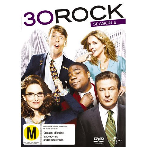 30 Rock: Season 5 3DVD