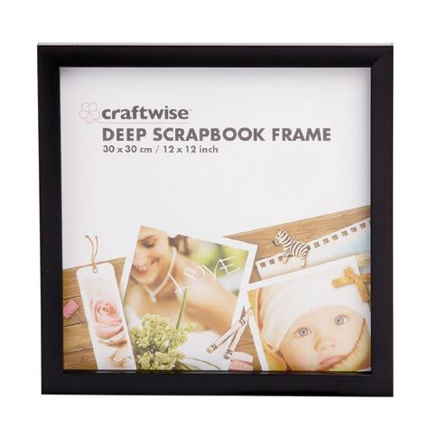 Scrapbook Photo Frame 30cm x 30cm x 2.4cm