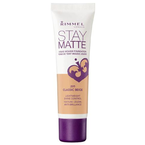 Rimmel Stay Matte Foundation Classic Beige