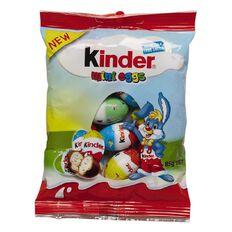 Kinder Bunny Milk Chocolate Mini Eggs 85g