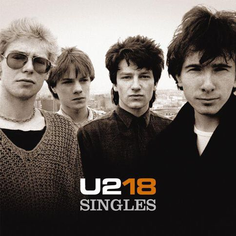 18 Singles CD by U2 1Disc