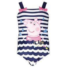 Peppa Pig Girls' Seaside Swimsuit
