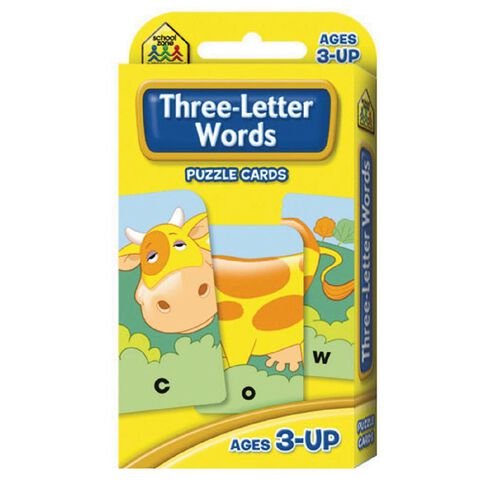 Flashcards 3 Letter Words (3+) by Schoolzone